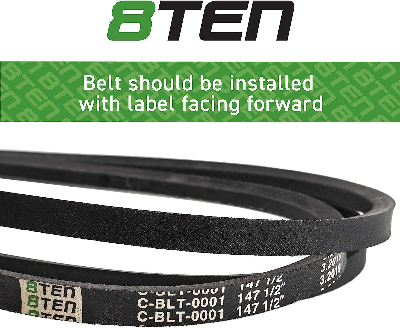 56 Length Rubber 3L Belt Cross Section D/&D PowerDrive 2C318 Okeefe /& Merritt Replacement Belt