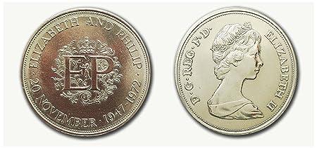 Sammler Münzen Queen Elizabeth Und Prinz Philip 1947 1972