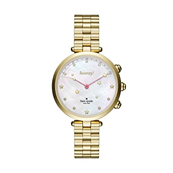 1542c44f6bd Kate Spade New York Women s Holland Slim Hybrid Watch with Stainless-Steel  Strap