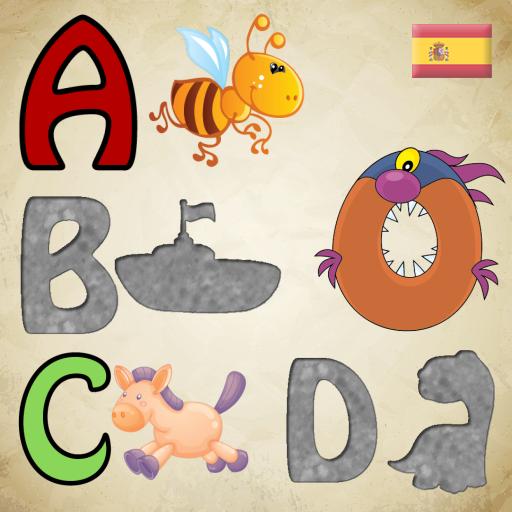 Abecedario Rompecabezas del alfabeto español para bebés y