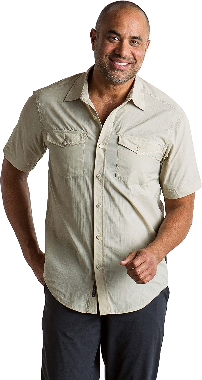 ExOfficio Mens Syros Lightweight Short-Sleeve Shirt