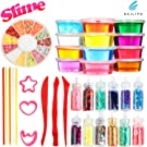 Kcilife 12 Color Slime /Sensory Toys Kids Toys Children Educational Toys Childrens Toys Boys/Girls Toys Autistic Children Magic Toy Baby Toys Outdoor Toys