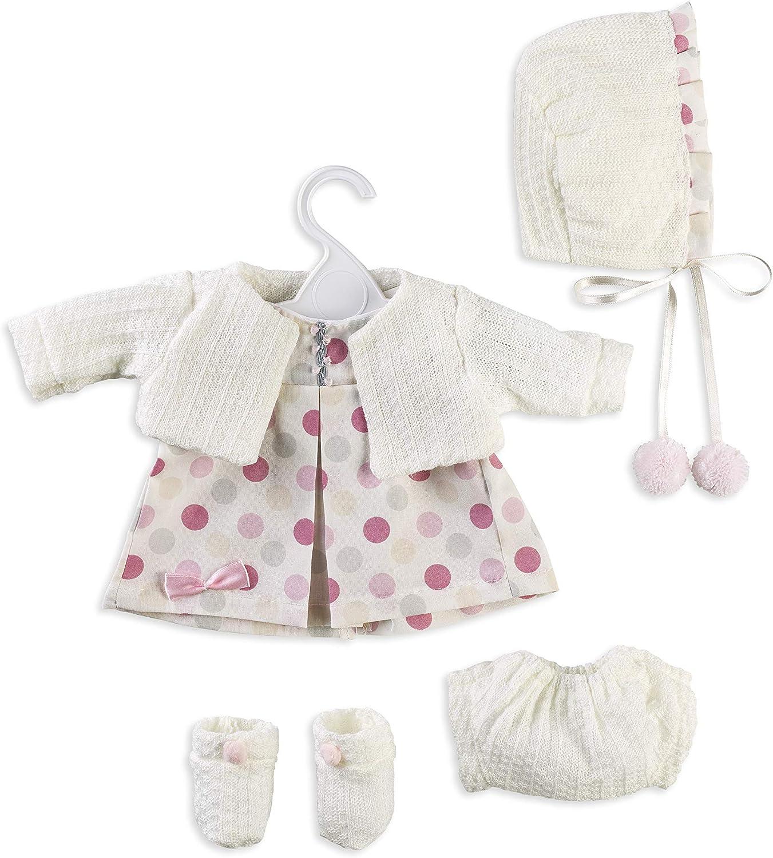 Berbesa- Conjunto Vestido para muñeca 42 cm (T5112)