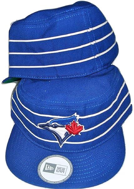 new product f76bd ea38e New Era MLB Toronto Blue Jays Pillbox  quot Exclusive quot  Flat Blue White  Brim