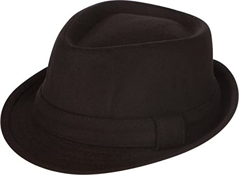 Sakkas Unisex Structured Wool Fedora Winter Hat 3 Colors