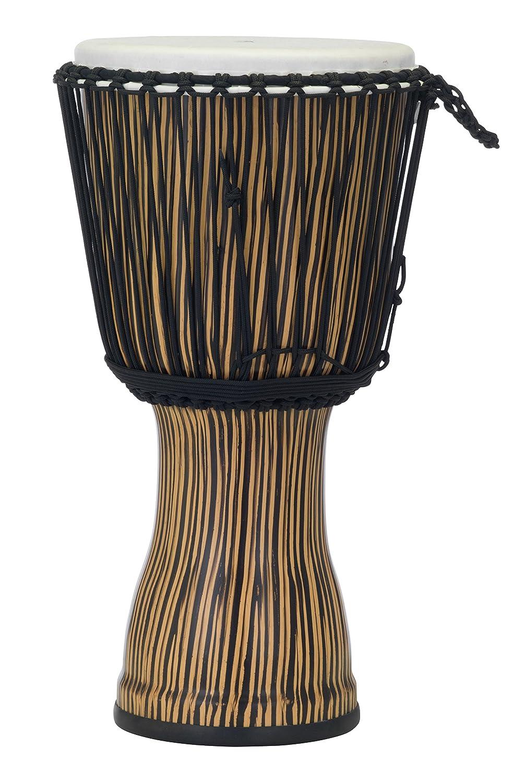 Pearl PBJVR12698 12 Roped Tuned Djembe in #698 Zebra Grass, Zebra Grass Pearl Corporation