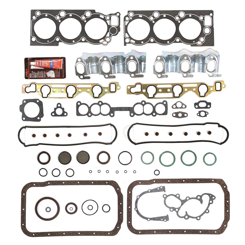 Evergreen OK2030LPM//0//0//0 93-95 Toyota T100 Pickup 4Runner 3.0L SOHC 12V 3VZE Master Overhaul Enigne Rebuild Kit
