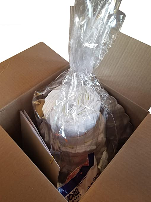 Amazon.com: Kit para hacer tarta de pañales en una caja ...