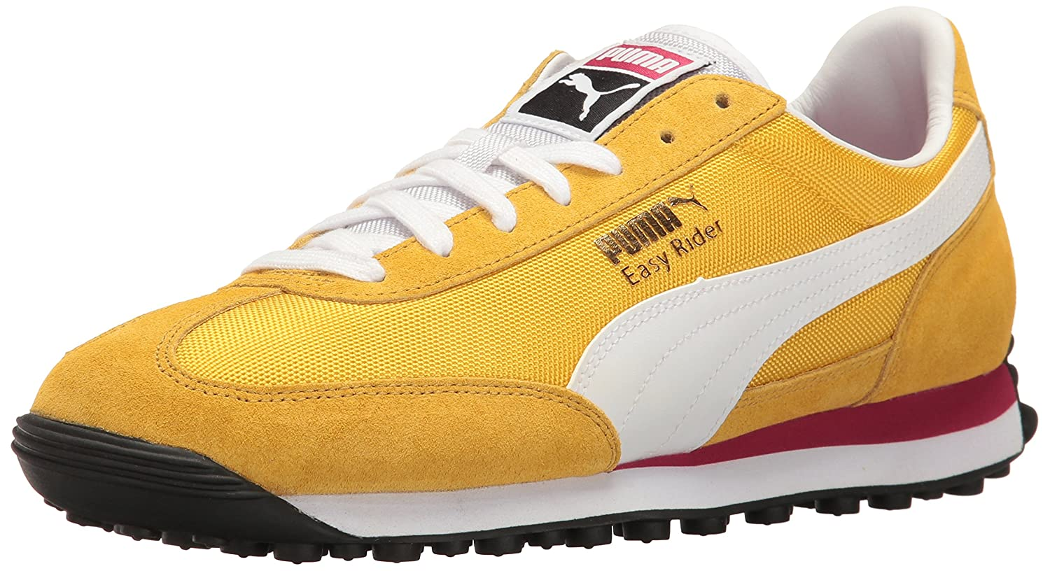 Puma Easy Rider Fashion Sneaker  4 M US|Solar Power-puma White