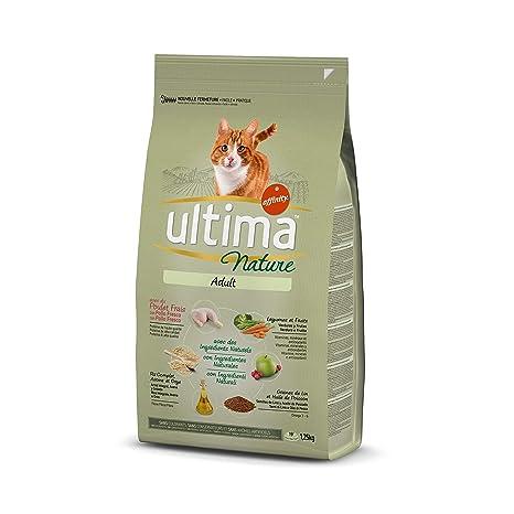 Ultima Nature Pienso para Gatos con Pollo - 1250 gr: Amazon ...
