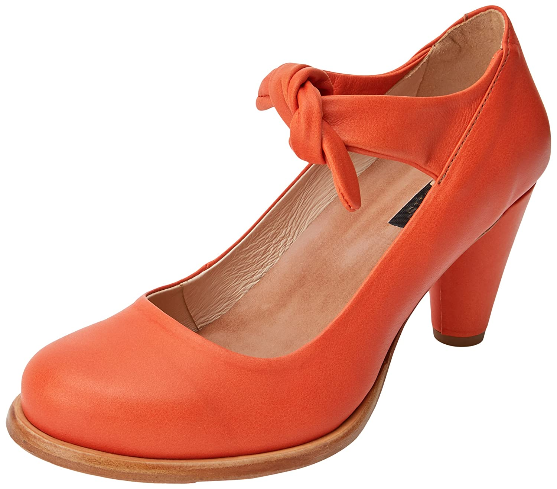 Neosens Damen S938 Suave Carrot/Beba Riemchenpumps Orange