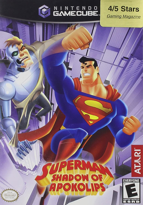 Amazon.com: Superman: Shadow of Apokolips - Gamecube: Video ...