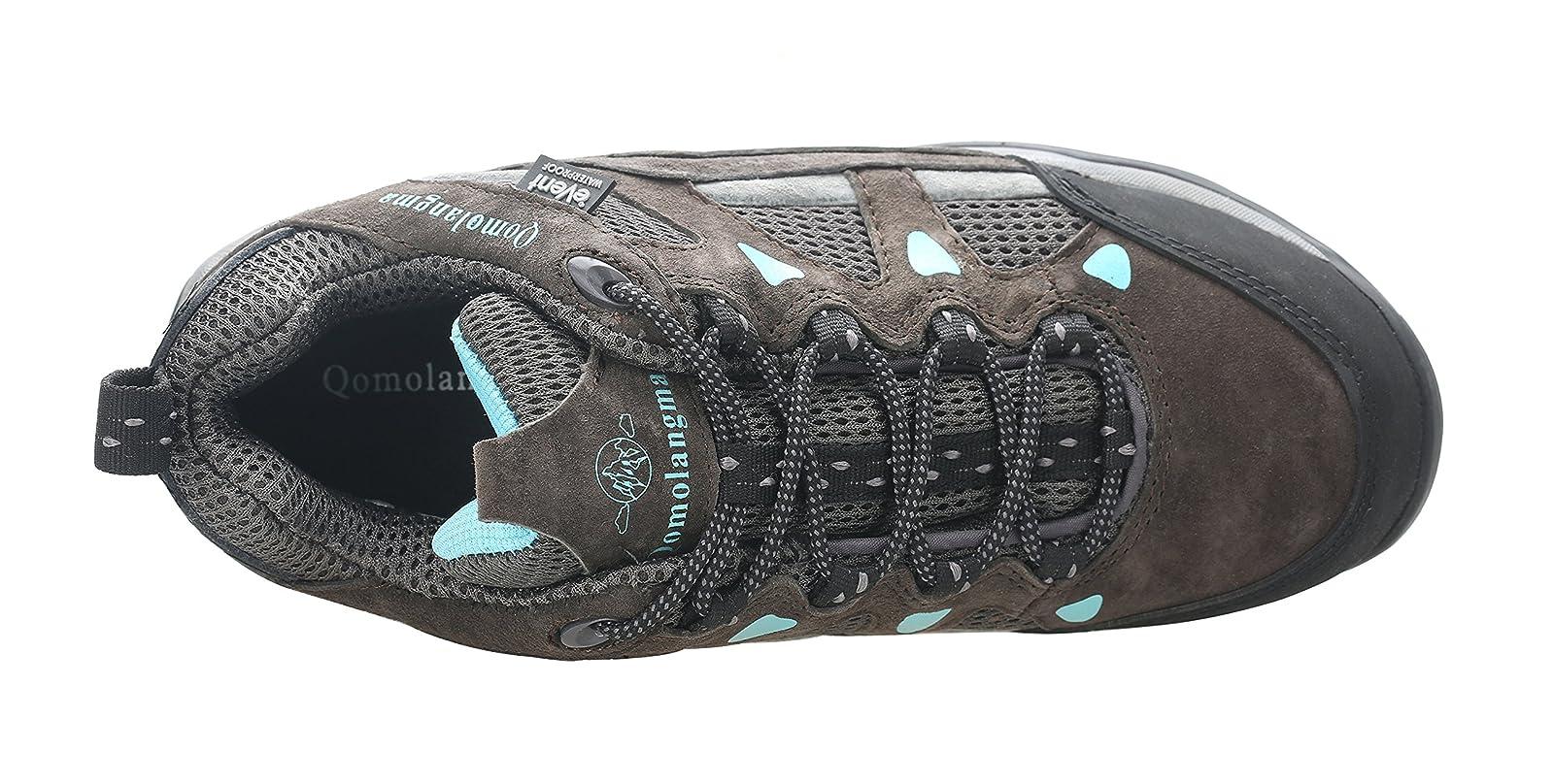 QOMOLANGMA Women's Waterproof Wide Hiking Shoes W91501 - 4