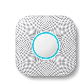 Google S3000BWES Nest Protect Alarm-Smoke Carbon Monoxide Detector, 1, White