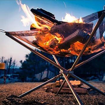 Popowbe - Parrilla plegable de carbón – parrilla portátil para barbacoa Yakitori parrilla Kebab, parrilla