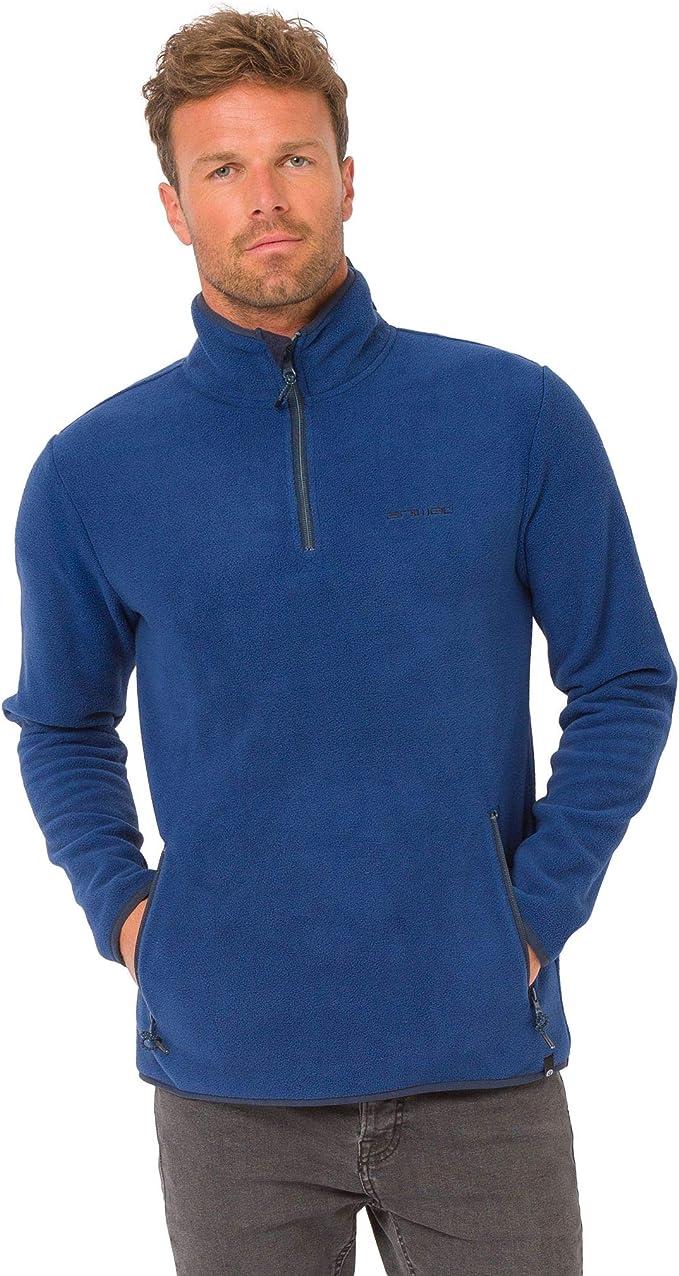 Animal Fairbanks Fleece Deepest Blue Animal Men/'s Clothing Jumpers /& Cardigans