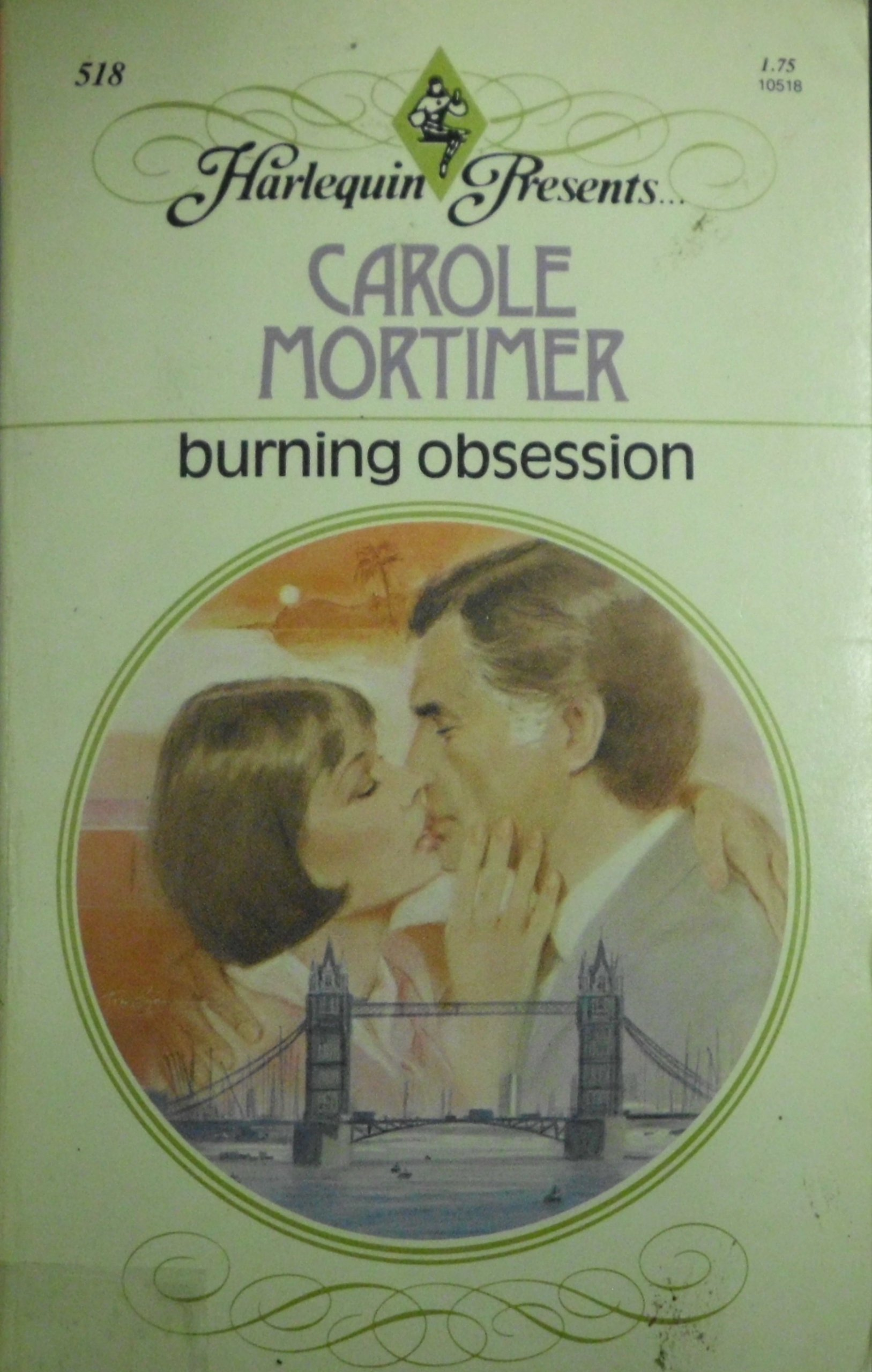 Burning Obsession: Carole Mortimer: 9780373105182: Amazon