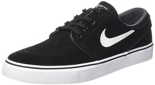 Nike Zoom Stefan Janoski, Zapatillas de Skateboarding para Hombre, Blanco (Black/White