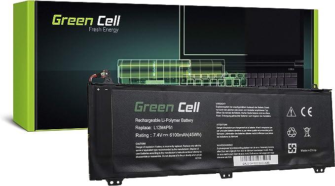 Green Cell® Batería Lenovo 121500161 121500162 L12L4P61 L12M4P61 ...
