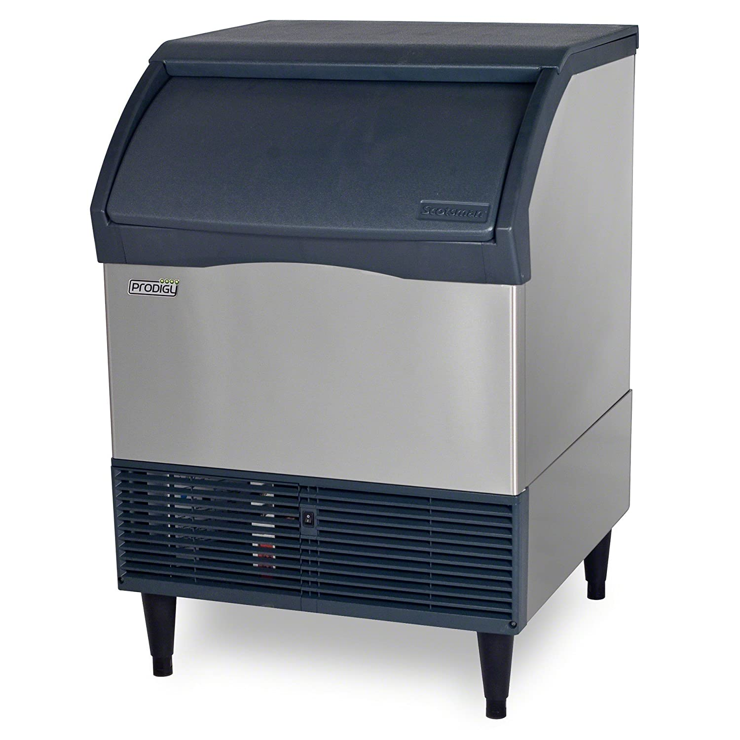 Scotsman CU2026SA-6 Air Cooled Small Cube Ice Machine with Bin (up to 192 lbs per 24 hrs/79 lb storage) 230V/50/1Ph