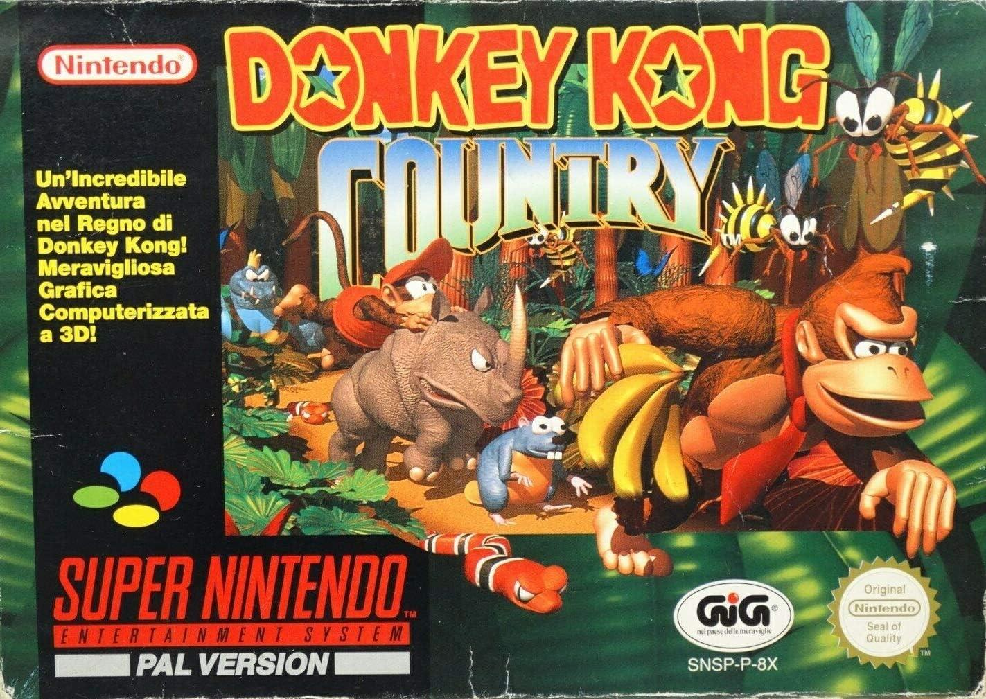 donkey kong snes games