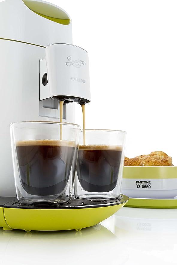 Amazon.com: Machine à Café Dosettes Senseo Twist Blanc/Anis HD7870 ...