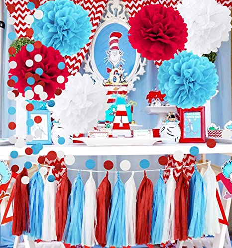 Amazon Dr Seuss Cat In The Hat Partydr Suess Decor Bridal