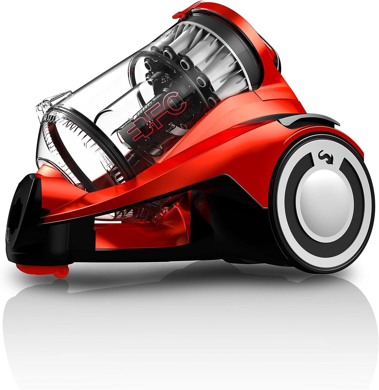 Dirt Devil Infinity Rebel 55 HFC - Aspirador sin bolsa, multiciclónico, boquilla rectangular parquet, Clase de eficiencia energética A: Amazon.es: Hogar