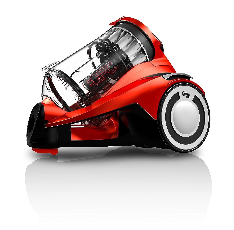 Acquisto Dirt Devil Infinity Aspirapolvere Senza Sacchetto con Tecnologia Multiciclonica Rebel 55 HFC e Spazzola Parquet, 800 W, 76 Decibel, Rosso Prezzo offerta