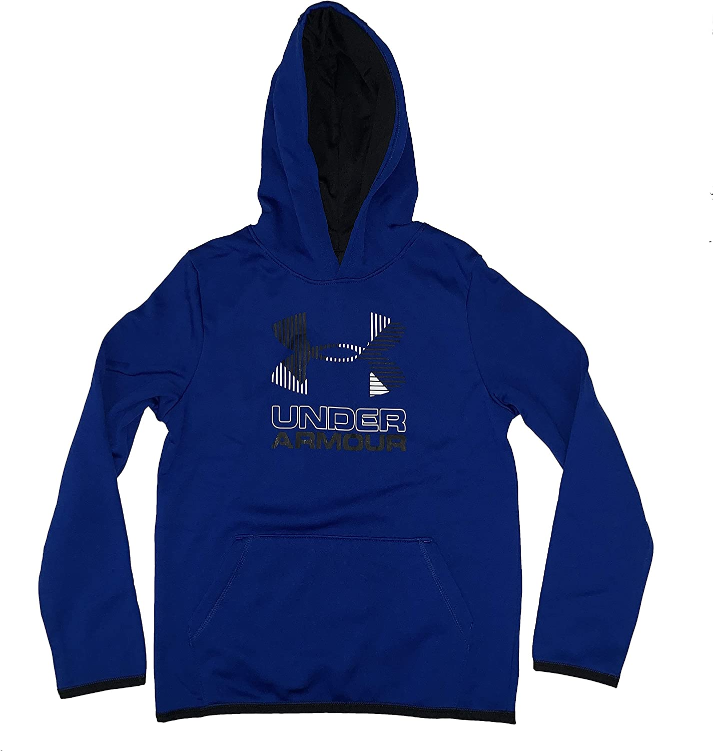 Under Armour ColdGear Athletic Hoodie Youth Boys Big Logo Pullover 1318190