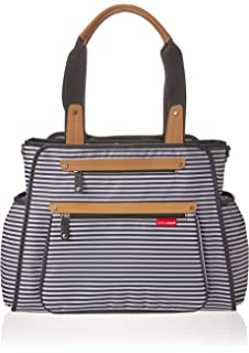 Amazon.com : Skip Hop Diaper Bag Tote for Double Strollers ...