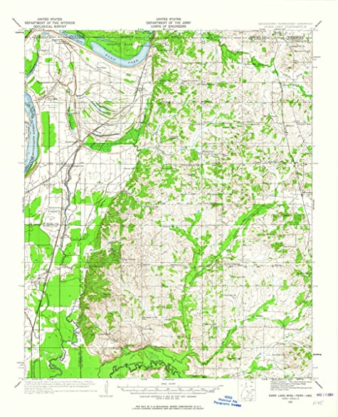 Amazoncom 1932 Horn Lake MS USGS Historical Topographic Map