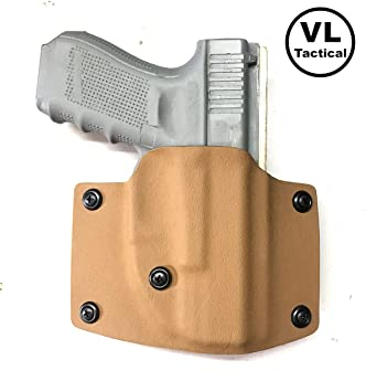 Amazon.com: VLTactical Kydex Desert Fox OWB - Funda de piel ...