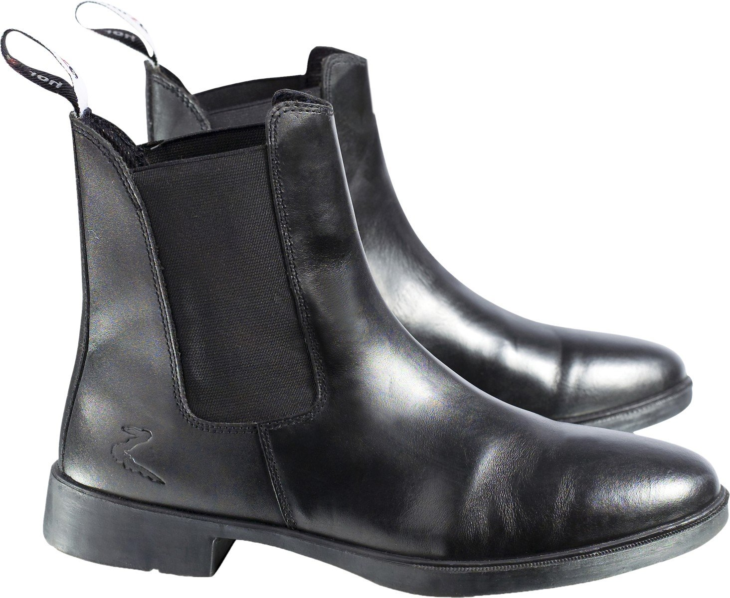 Horze Signature Paddock Boots B005JDD0DW 10|Black