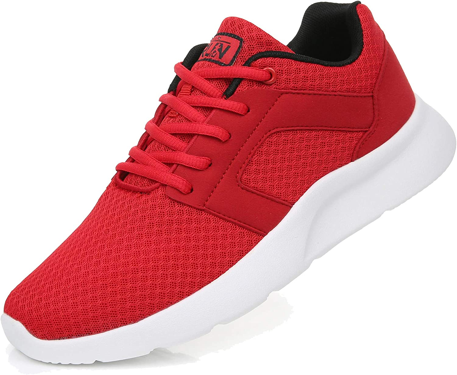 Uricoo Zapatillas Running Hombre Mujer Zapatos Deporte para Correr Trail Fitness Sneakers Ligero Transpirable 34-46