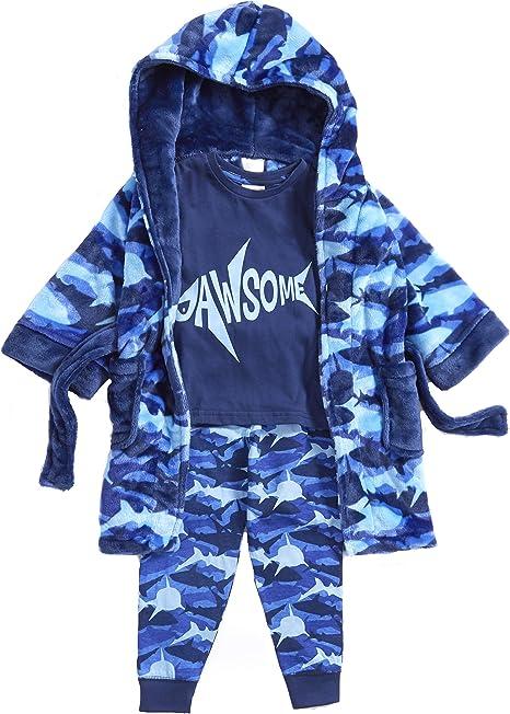 fournir beaucoup de collection de remise original à chaud Minikidz Ensemble Pyjama et Robe de Chambre Assortie pour ...