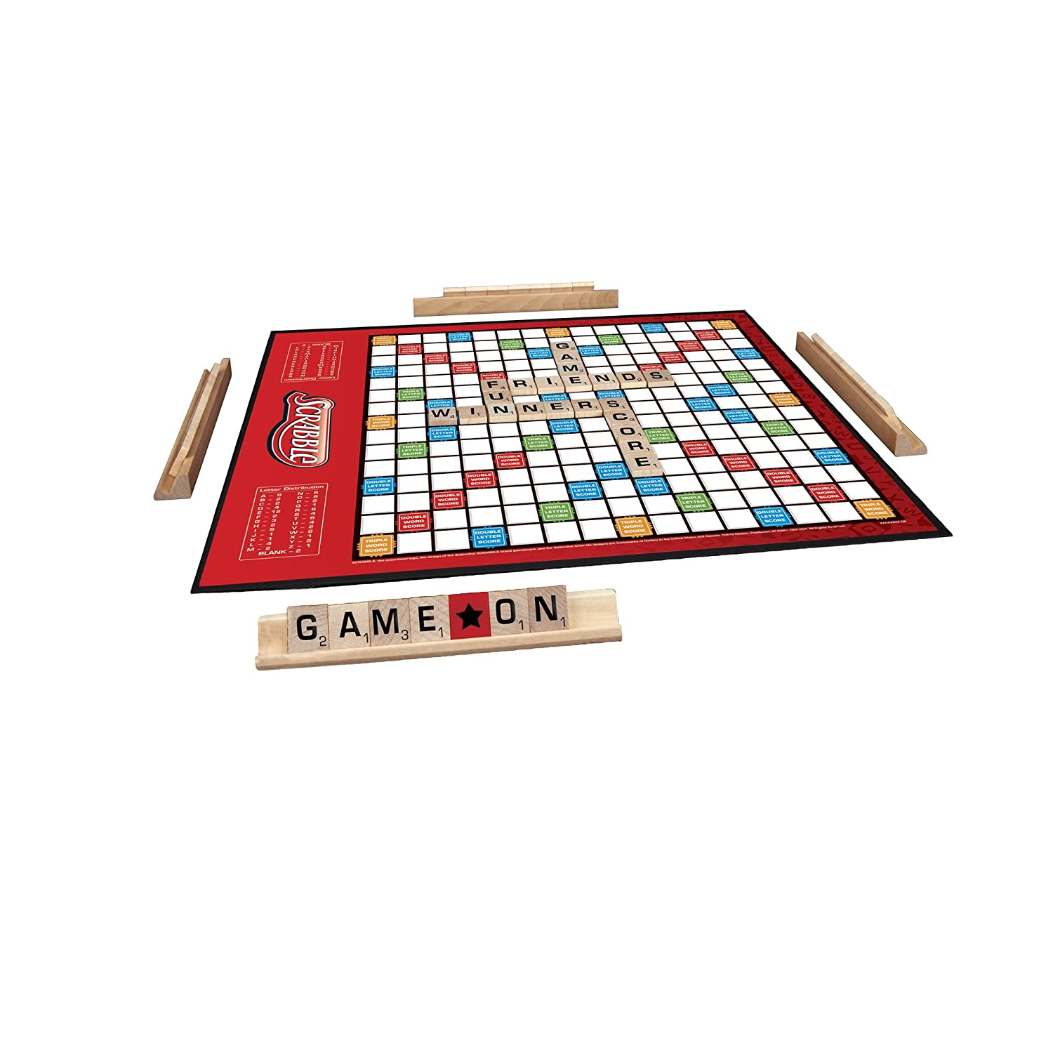 Amazon Hasbro Scrabble Crossword Game With Power Tiles Toys Games