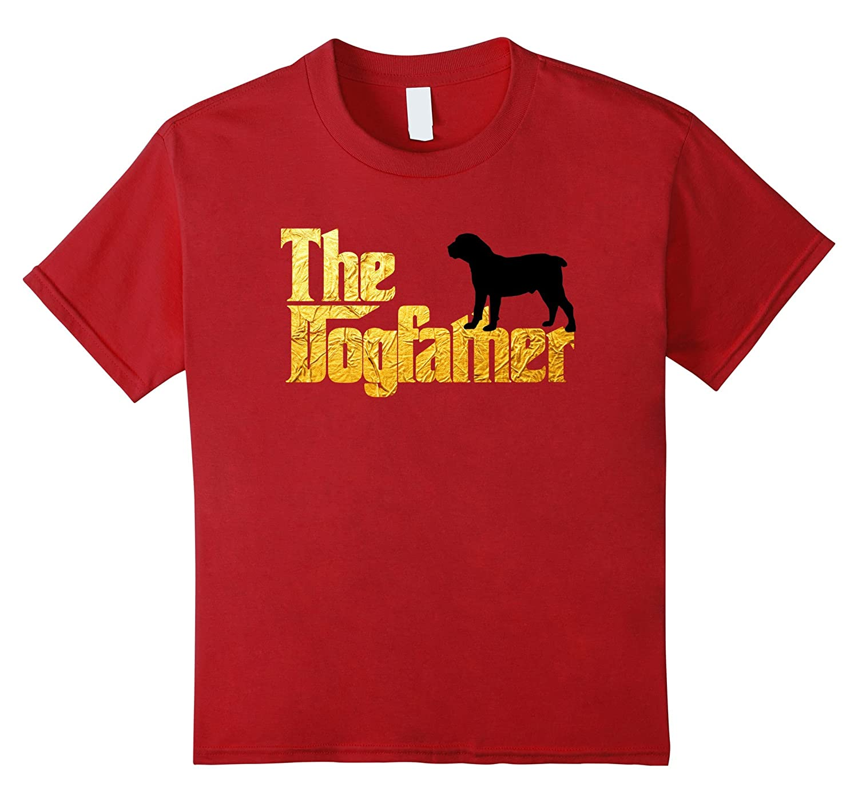 Mens Boerboel Dogfather Shirt Heather-Teechatpro