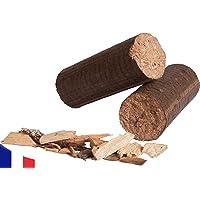 Bois de Chauffage Compressé 100% Bois Dur - 20 kg