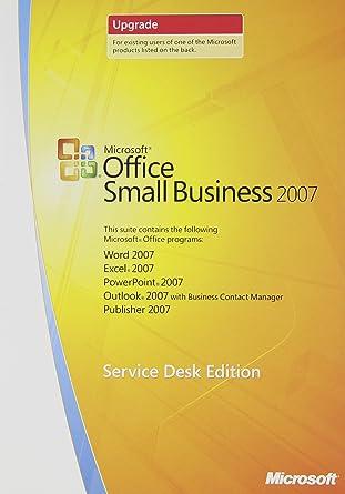 microsoft office 2007 software cd
