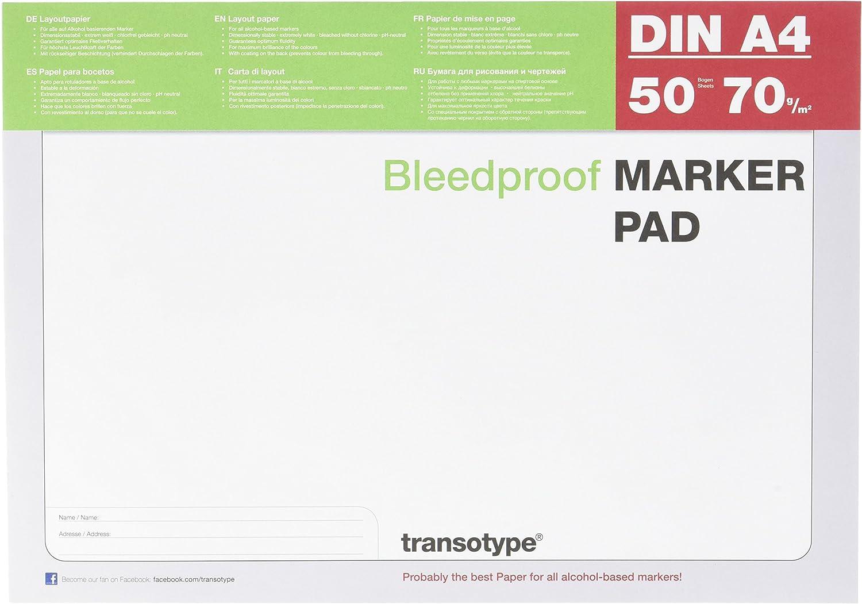 Copic A4 50 feuille Marqueur Bloc