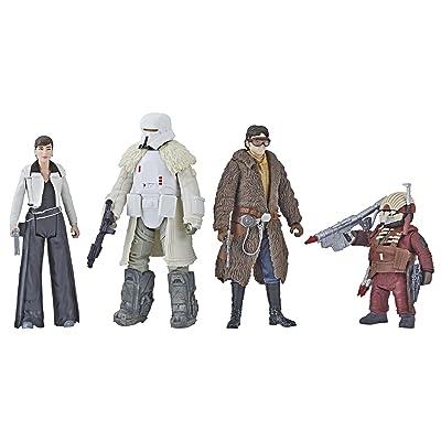 """Star Wars Force Link 2.0 Mission on Vandor-1 3.75"""" Figure 4 Pack: Toys & Games"""