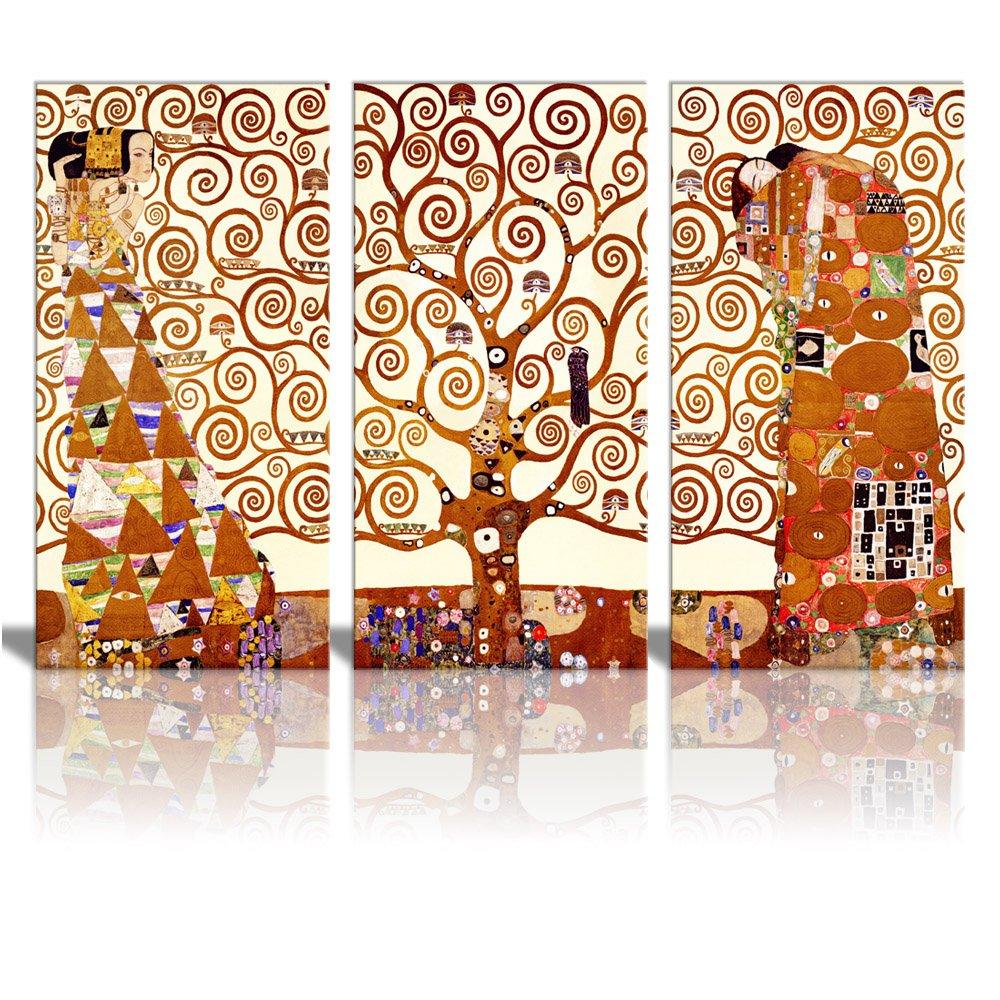 Canvas Wall Art Art Reproduction Tree Of Life By Gustav