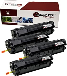 4 Pk High Yield Black CF280A 80A Toner Cartridges For HP LaserJet M401dw M425dne