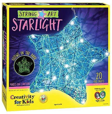 Amazon Com Creativity For Kids String Art Star Light Led String