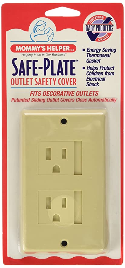 Amazon.com: Mommys Helper Safe Plate Electrical Outlet Covers Decora ...