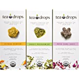 Tea Drops, Best-Sellers Combo Pack, 30 Servings of Tea