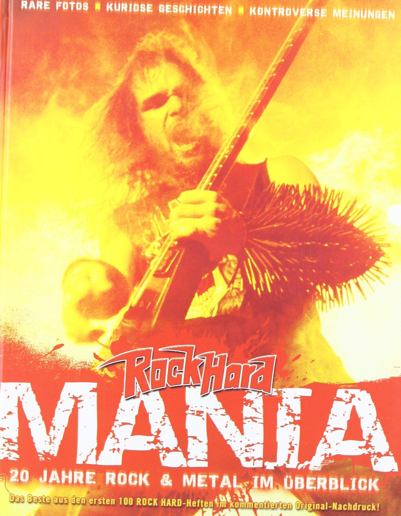 Rock Hard Mania: 20 Jahre Rock & Metal im Überblick