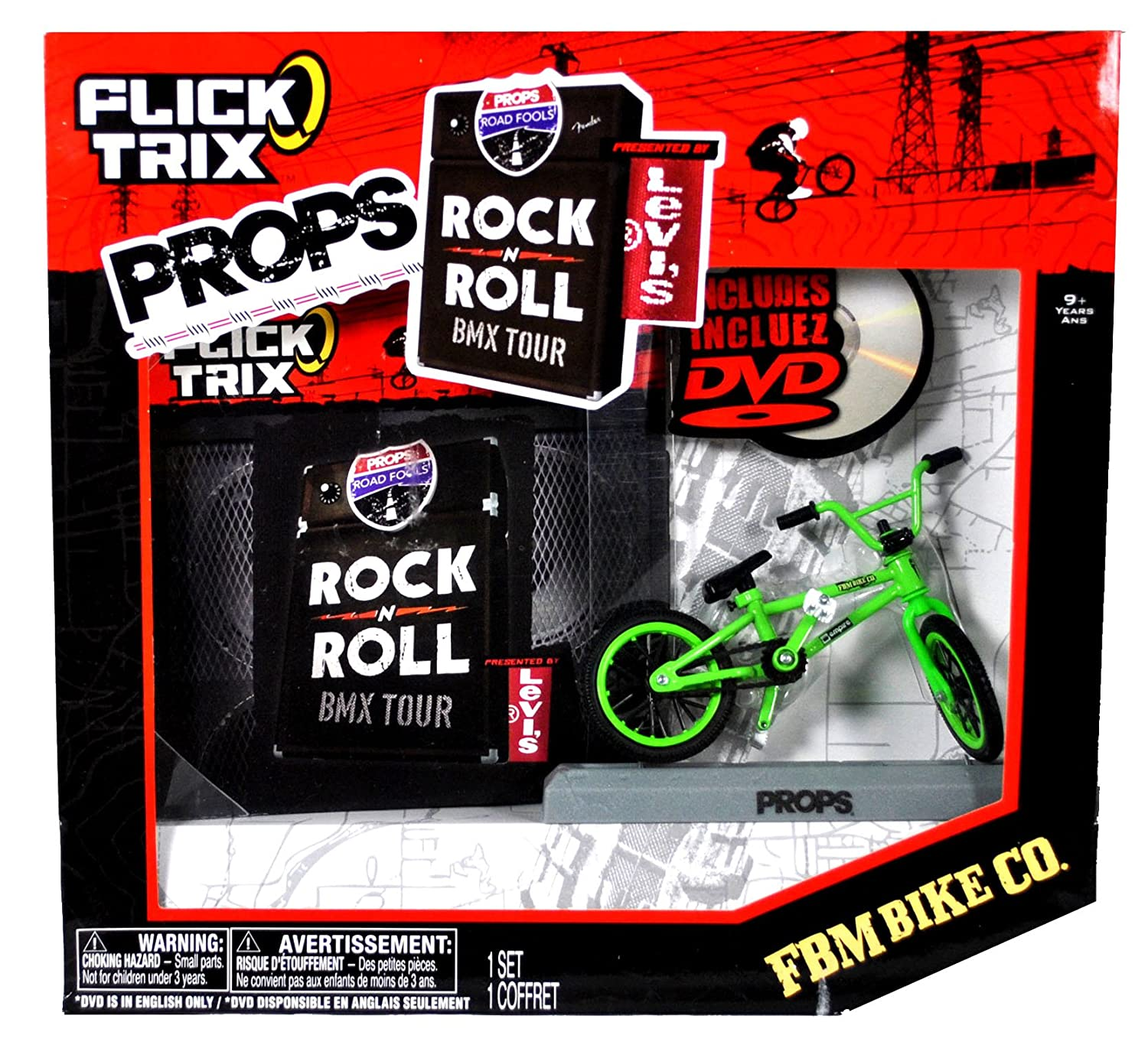 Flick Trix Props Rock N Roll BMX Tour [FBM Bike Co.] Spin Master 20031807