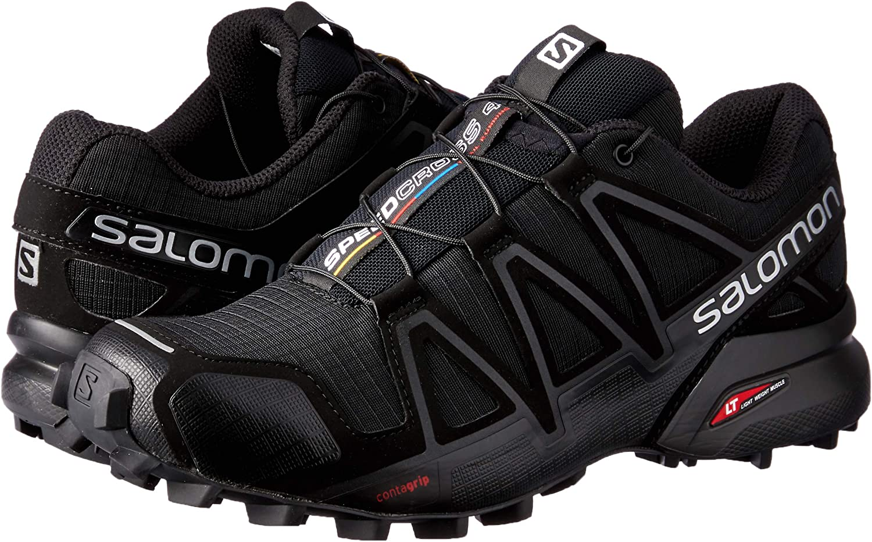 Salomon Womens Speedcross 4 Trail Running Shoes Trail Running Shoe